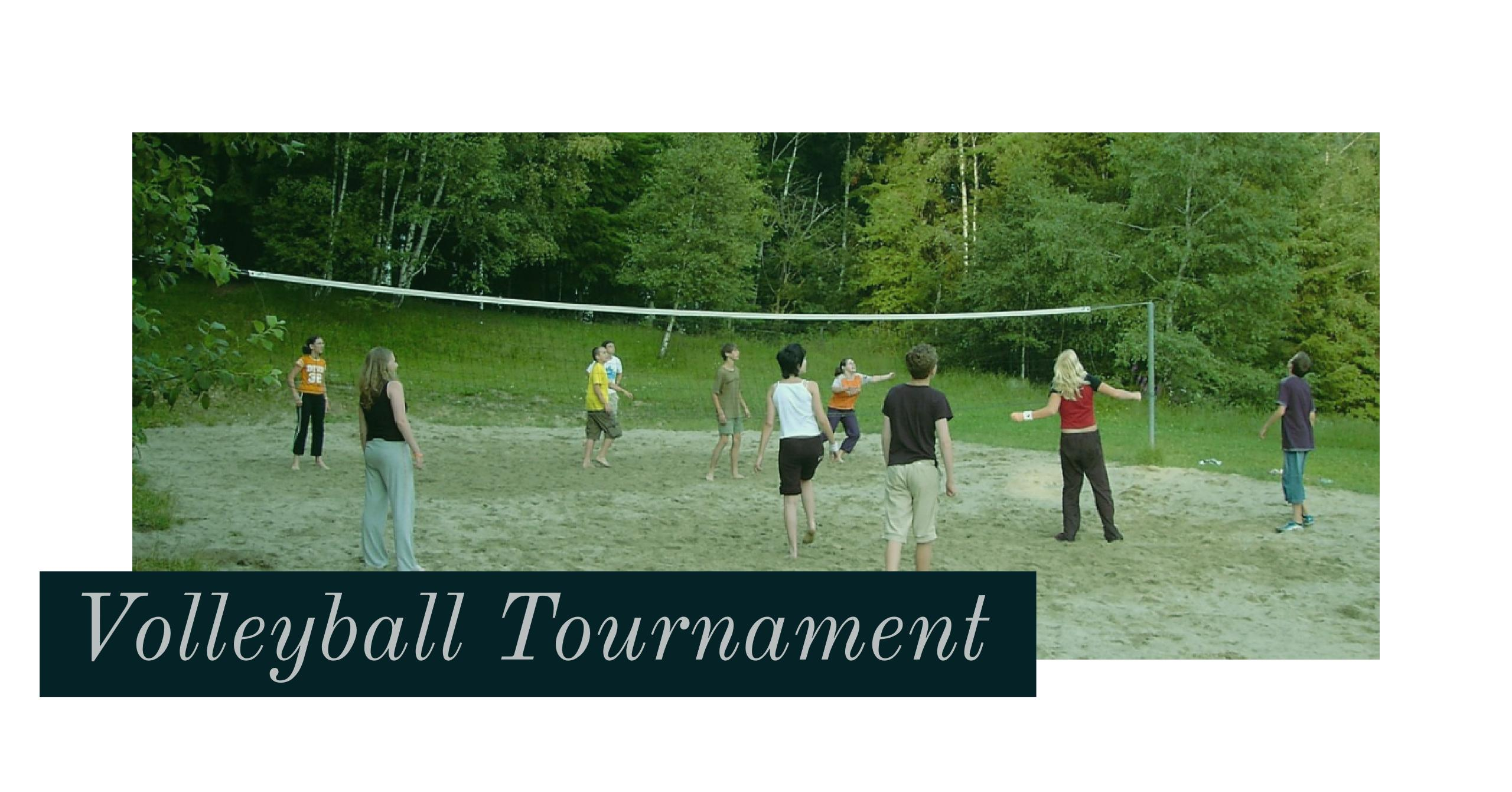 Volleyball Tourney
