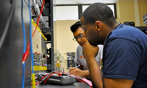 BCCC ELC students in class